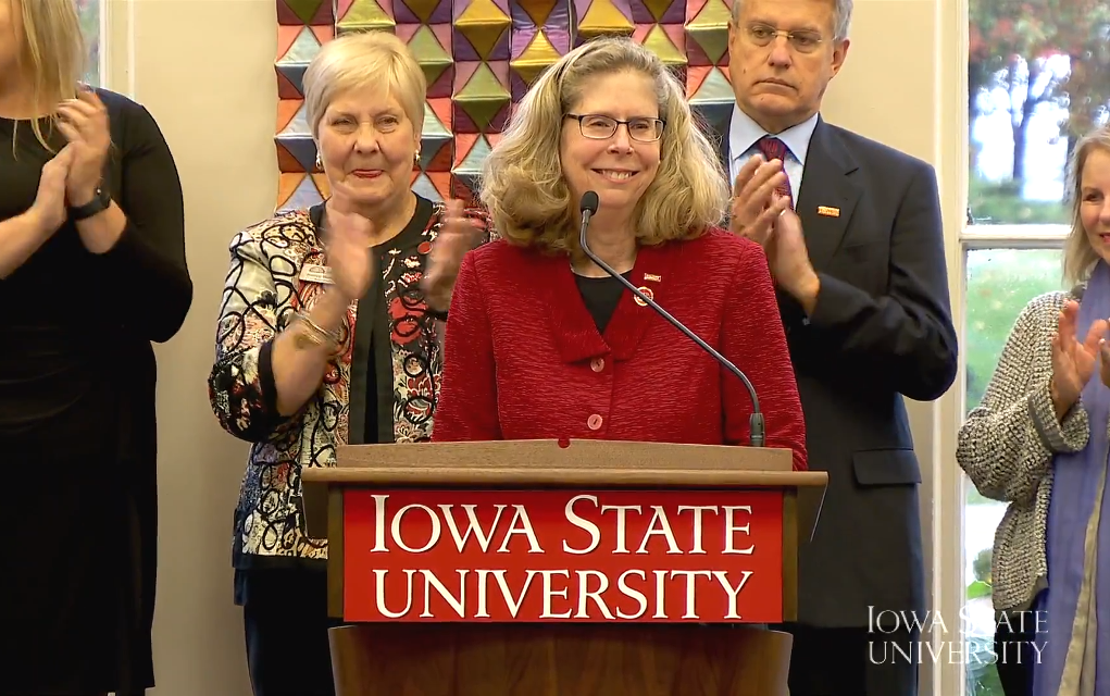 Wendy Wintersteen Is the New President of Iowa State University