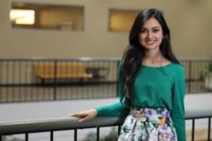 Hira Mustafa, 21, 2018-19 University of Iowa Student Government president.