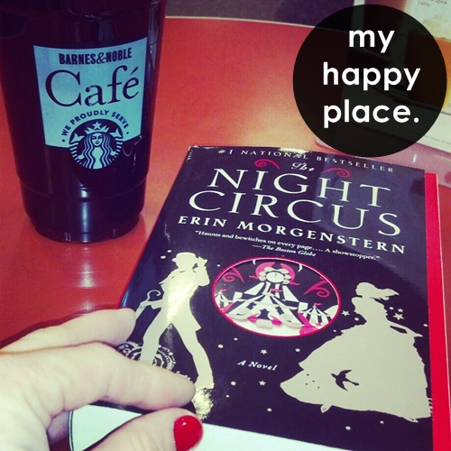 happy place the night circus at barnes and noble