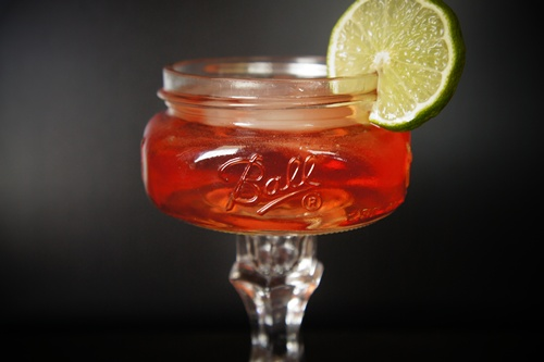 the irish red. using irish whiskey and ginger beer