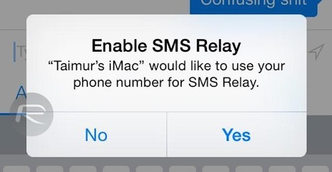 SMS-Relay