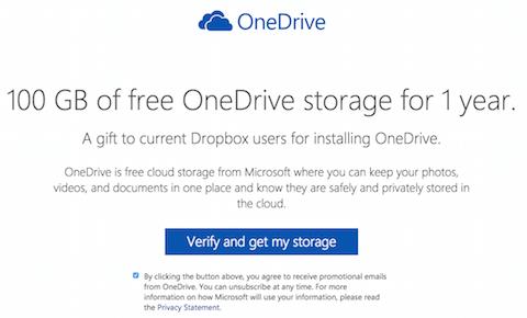 onedrive dropbox 100gb 22
