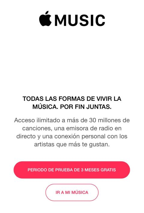 apple music 3 meses