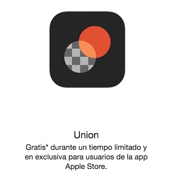 union apple store promocion