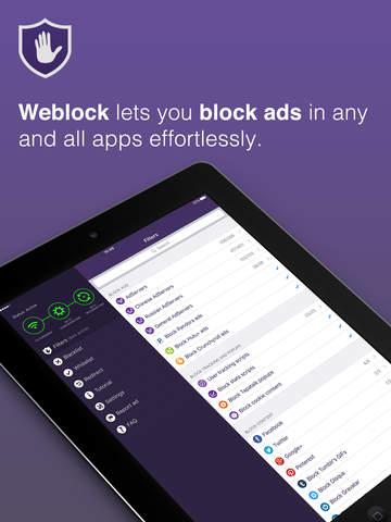 Weblock - AdBlock de aplicaciones y web