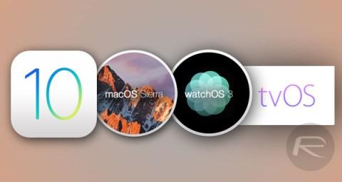 ios-10-macos-sierra-tvos-10-watchos-3