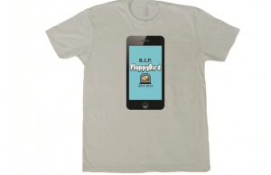 flappy bird t-shirt sells for $10,000