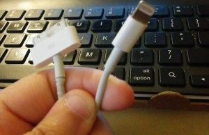 Apple's USB cables show transition period
