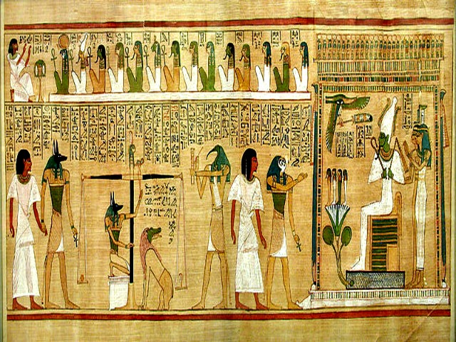 What does The Book of the Dead say about Egyptian religious concepts?