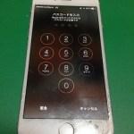 【修理実績No.100】iPhone6のフロントパネル液晶割れ
