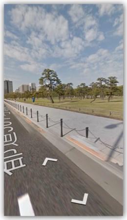iPhone用グーグルマップアプリのストリートビューの使い方