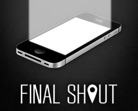 iPhoneからのSOSを見逃さないで!FINAL SHOUT(ファイナルシャウト)