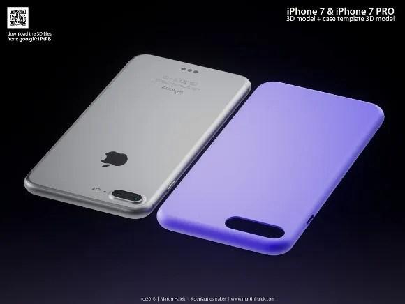 iPhone7 iPhone7 Pro (http://www.martinhajek.com/iphone-7pro-3d-models-case-templates/)