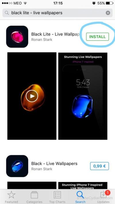 Download iPhone 7 LIVE Bubble Wallpapers on iOS 10 (No Jailbreak)