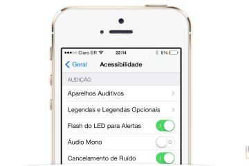 dica iphone ativar flash led alerta