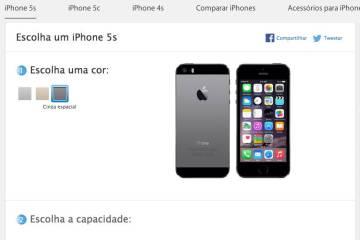 preço iphone 5s