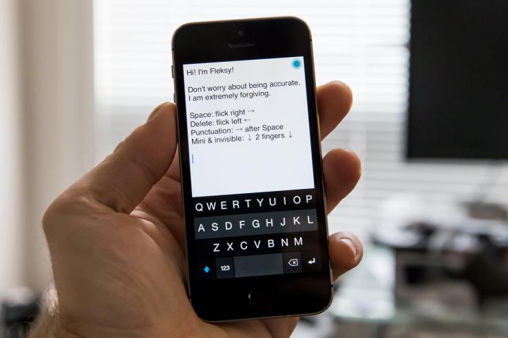 [Dica] Conheça o Fleksy, o melhor teclado para iPhone