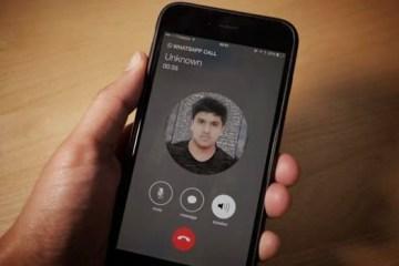 ligacoes whatsapp iphone