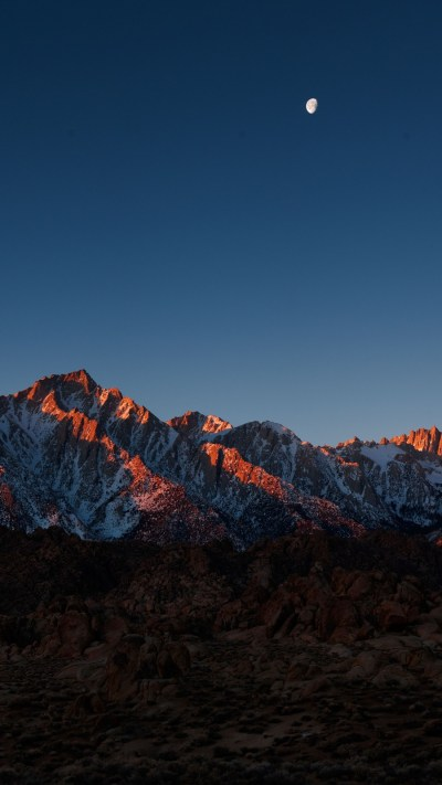 mount-whitney-alabama-hills-iPhone-Wallpaper - iPhone Wallpapers