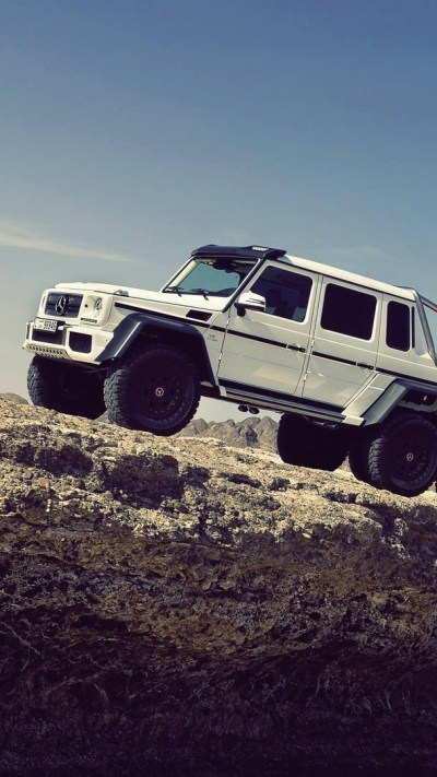 The-Mercedes-Benz-G63-AMG-6x6-iPhone-Wallpaper - iPhone Wallpapers