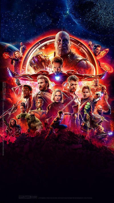 Avengers-Infinity-War-Poster-iPhone-Wallpaper - iPhone Wallpapers