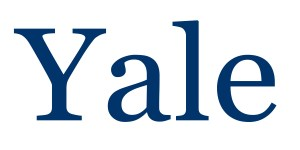 YALE logo VERY large