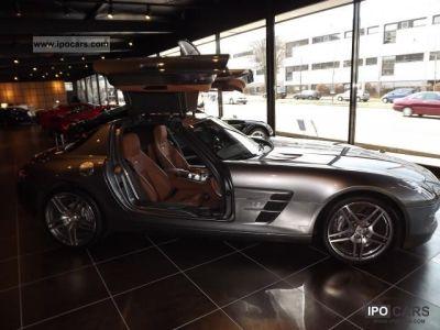 2010 Mercedes-Benz SLS AMG Coupe Mod.2011 Super color combination, - Car Photo and Specs
