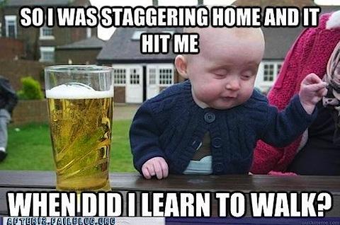 Funny Drunk Baby MEme