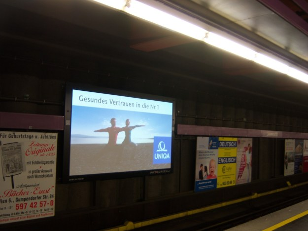 subway, vienna, austria