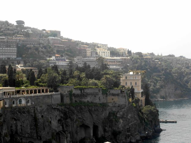 coast houses, sorrento, italy
