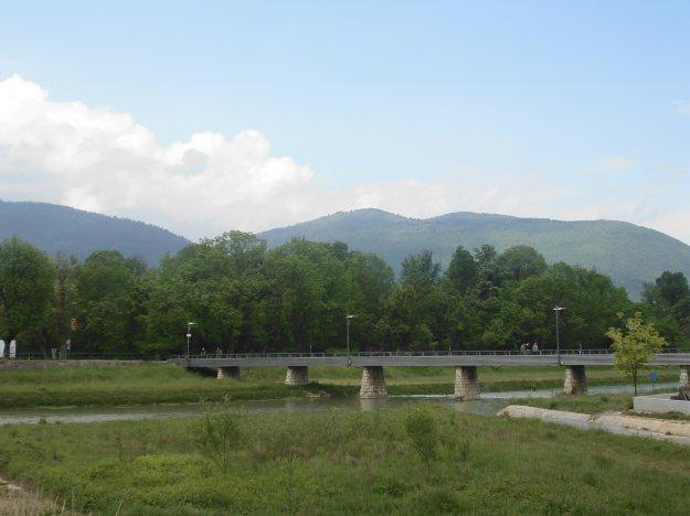 park - sarajevo, bosnia