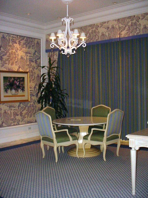bellagio penthouse suite dining room
