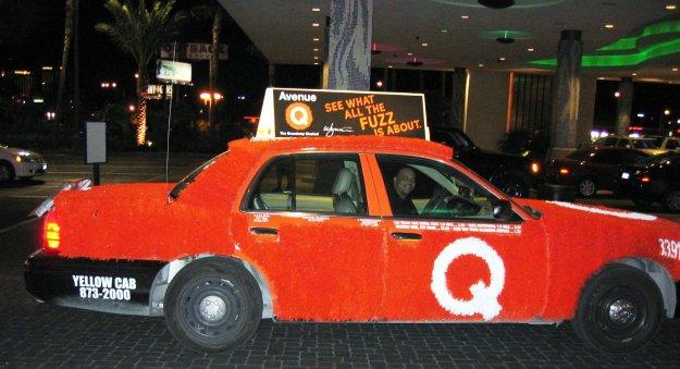 fuzzy avenue q cab, Las Vegas