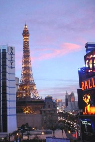 Sunset View Barbary Coast, Las Vegas, Nevada
