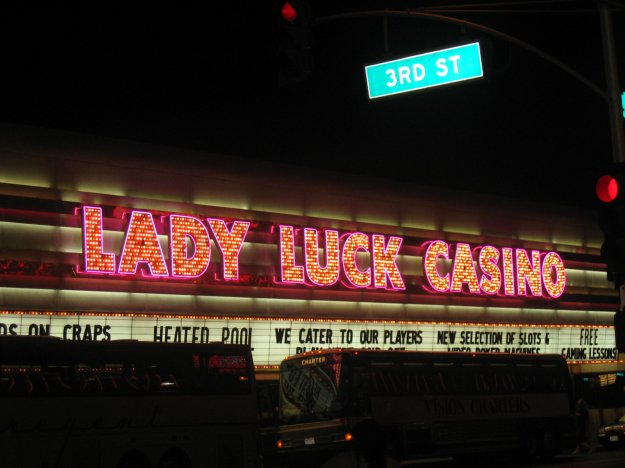 Lady Luck neon