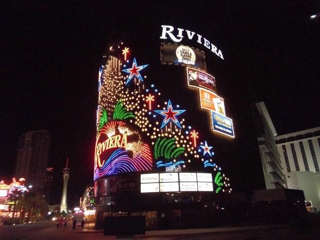 Riviera Las Vegas night