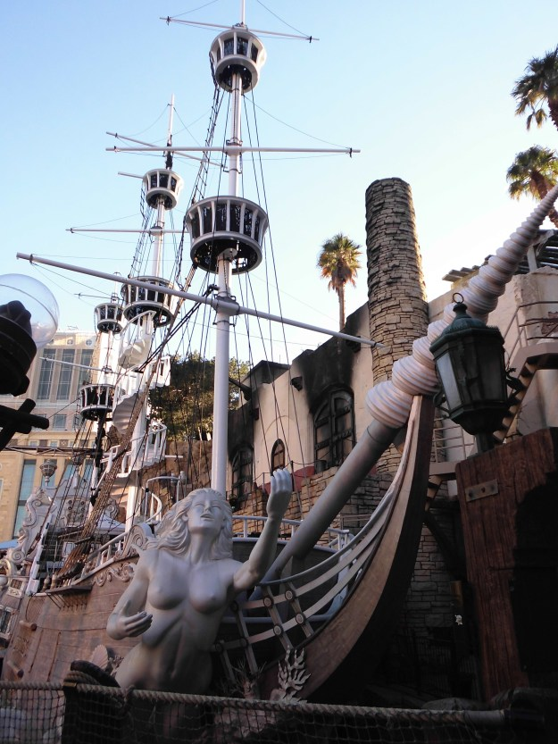 Treasure Island Pirate Ship Las Vegas