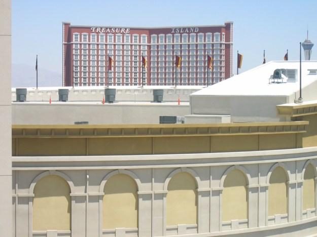 Caesars Las Vegas room view