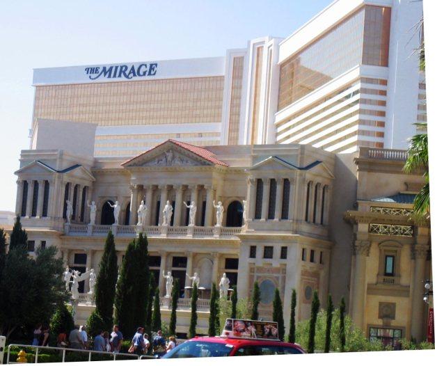 Caesars and Mirage Las Vegas