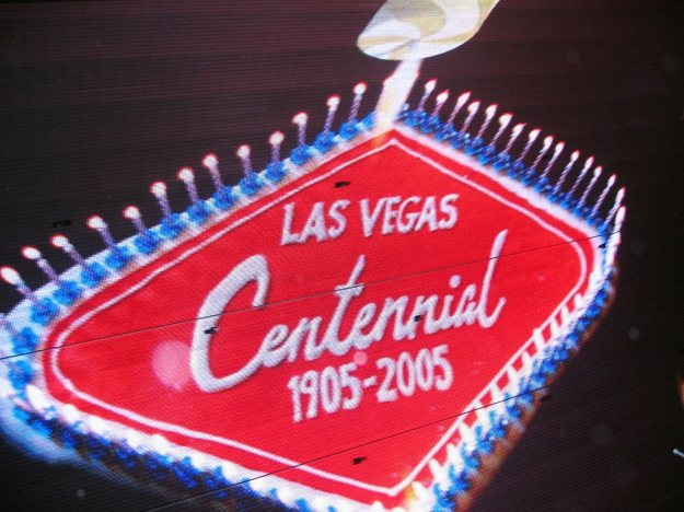 Fremont Street Experience Las Vegas Centennial