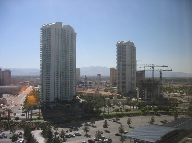 Hilton Las Vegas room view