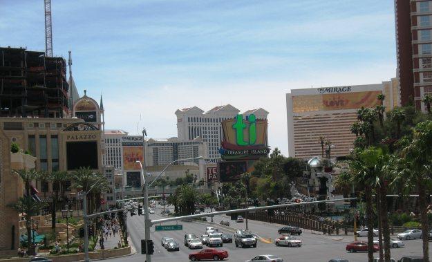 Palazzo construction Las Vegas