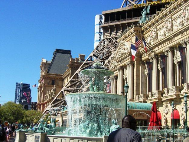 Paris fountain Las Vegas
