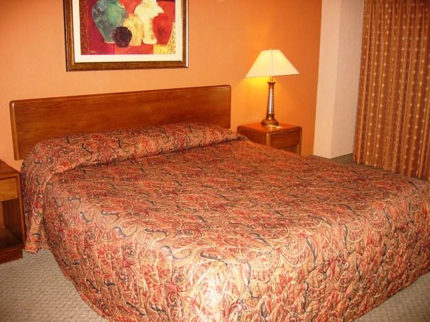 Saraha Las Vegas room