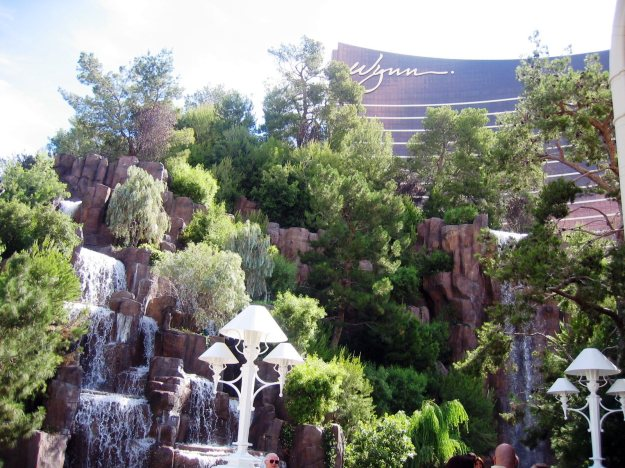 Wynn Las Vegas waterfall