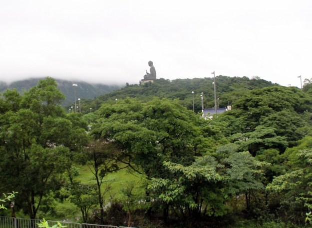 Tian Tan Buddha from Cable Car exit