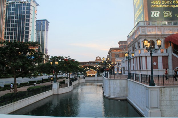 Venetian Macau canal