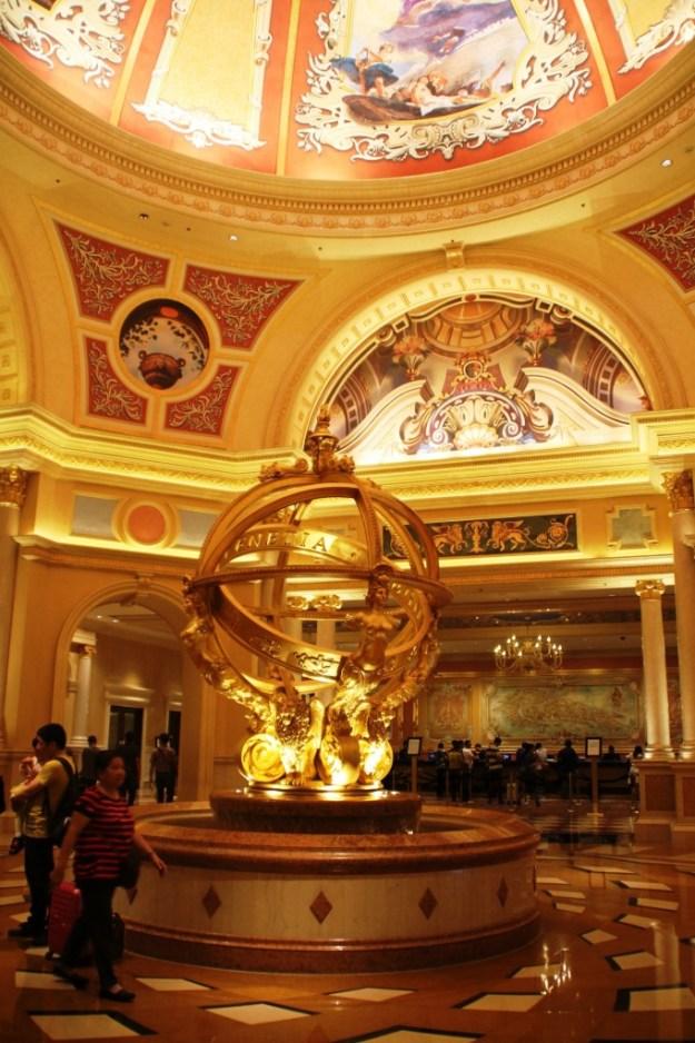 Venetian Macau entrance
