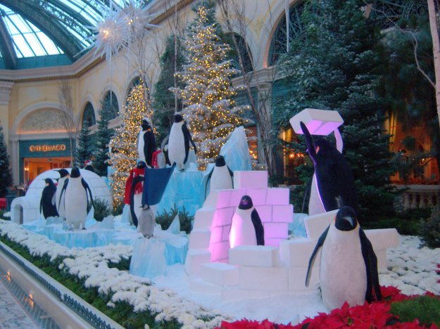 Bellagio Christmas conservatory Las Vegas Nevada
