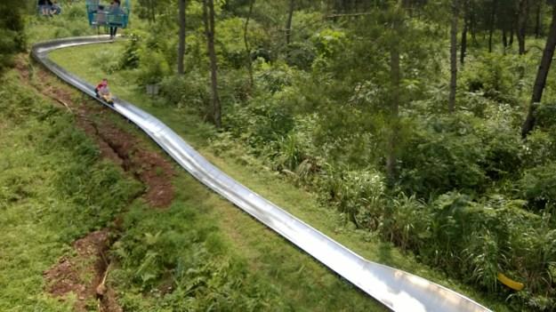 Yao mountain bob sled track Guilin China